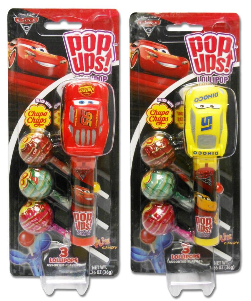 Cars 3 Pop Ups, Cars 3 Pop Ups Blister Group
