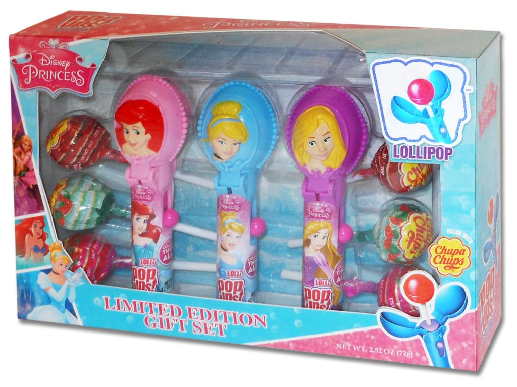 Princess Pop Ups Gift Set, Disney Princesses 3 Pack Gift Set