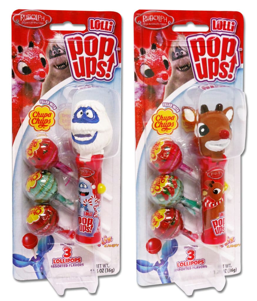 Rudolph Pop Up, Rudolph Pop Ups Blister Group