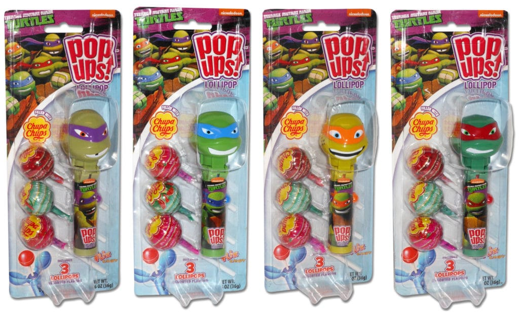 TMNT Pop Ups, Teenage Mutant Ninja Turtle Blister Cards