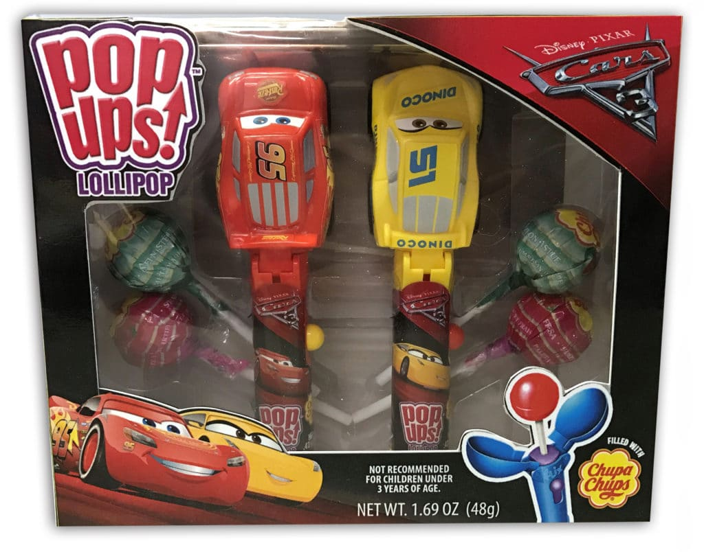 Cars 3 Pop Ups Gift Set, Cars 3 2 Pack Gift Set