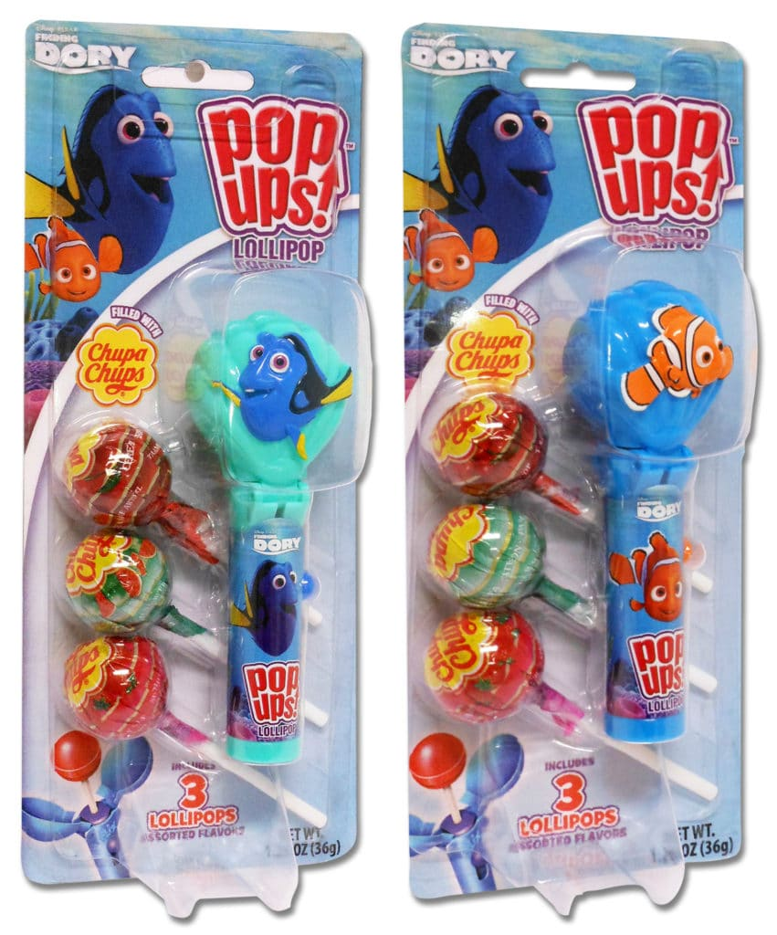 Finding Dory Pop Ups, Finding Dory Blister Cards