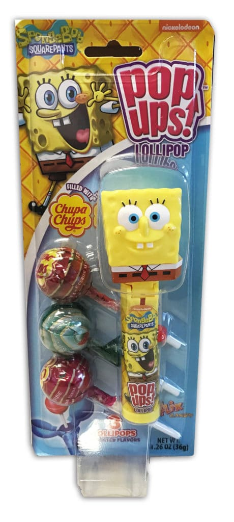 Spongebob Pop Up, Spongebob Blister Card